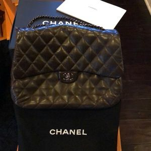 💯% Authentic Chanel quilted maxi